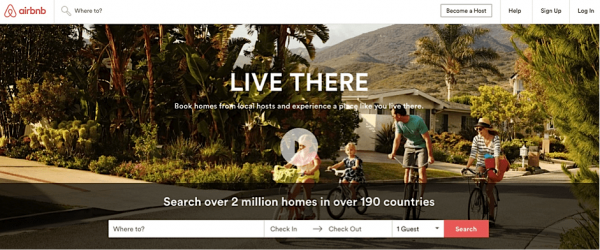 chiến dịch marketing online Airbnb