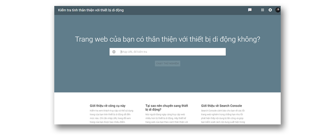 công cụ seo google mobile friendly