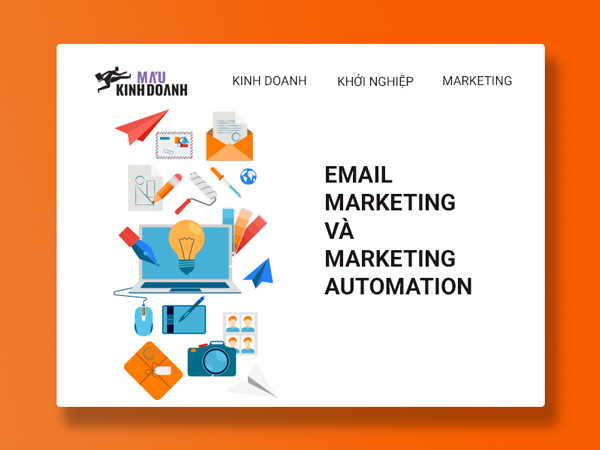 email marketing và marketing automation